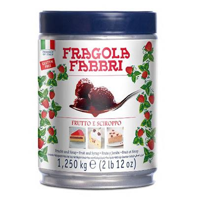 Fragola Frutto Lattina 1,25 kg