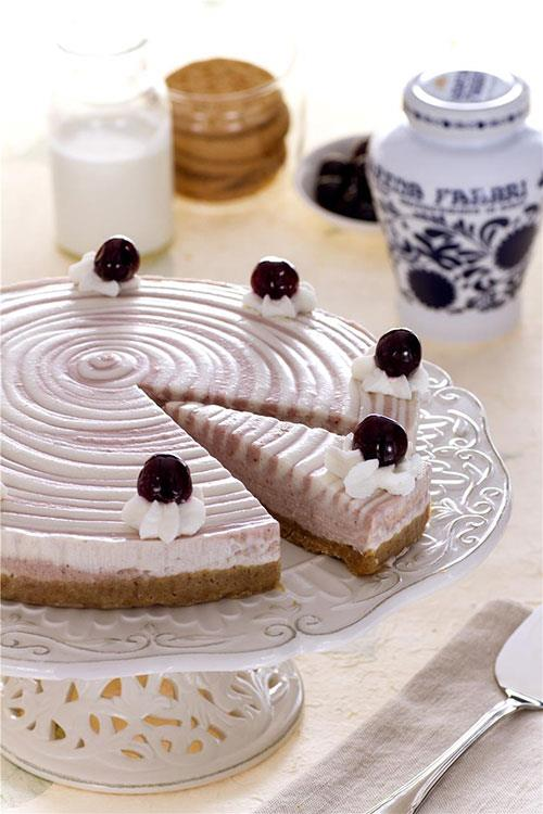 Cheesecake all'Amarena Fabbri
