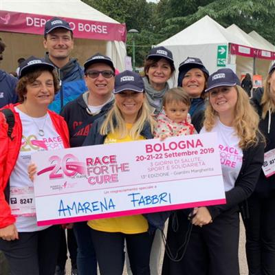 Fabbri 1905 sostiene Race for the Cure