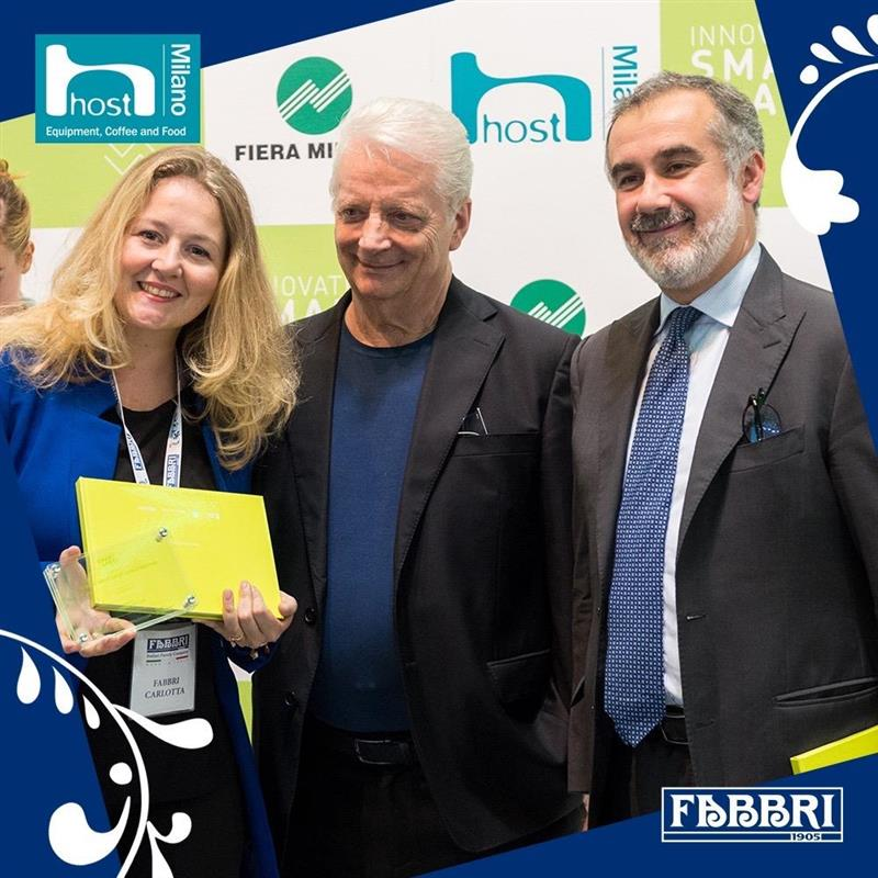 Simplé Aloe premiato a Host 2019 come Smart Label Menzione Speciale by Iginio Massari