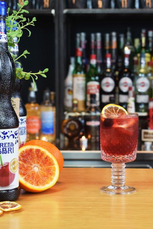 Sciroppo Amarena cocktail