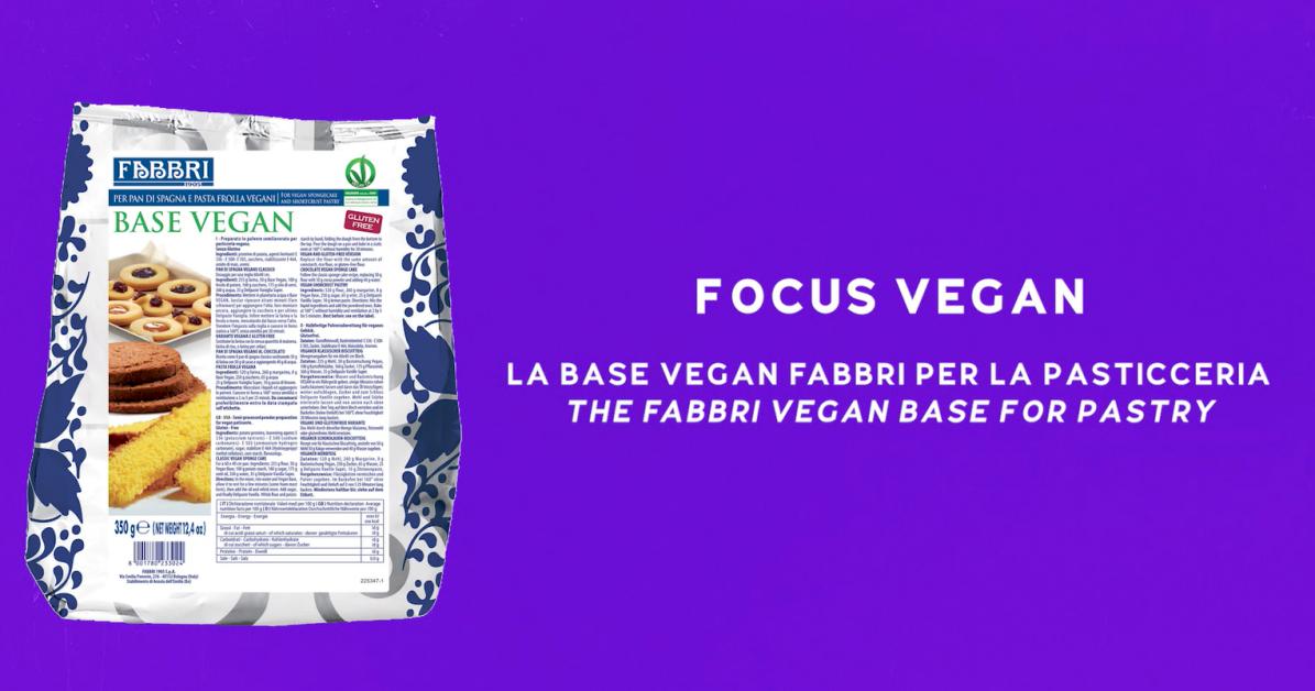 Rivedi il webinar dedicato alla base vegan Fabbri per la pasticceria